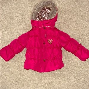 Little girl WARM puffy jacket